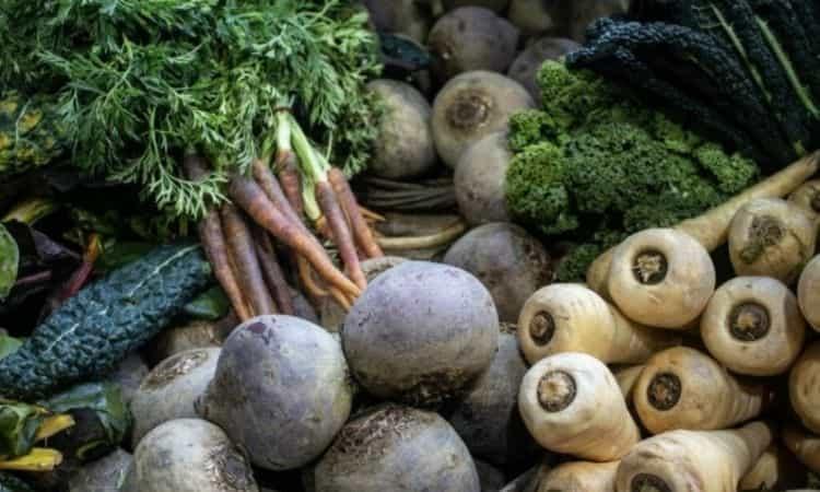 seasonal vegetables december