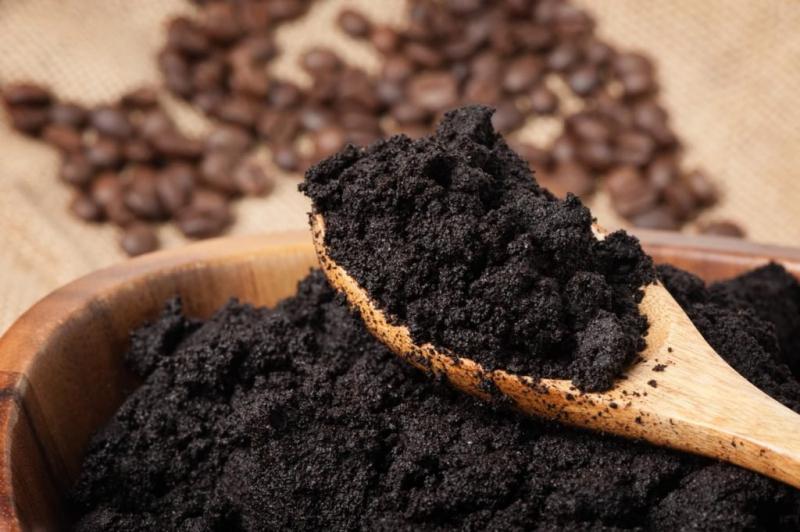 Coffee grounds make a wonderful fertilizer