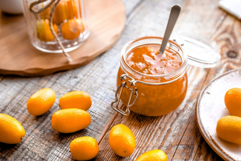 Kumquats can be made into all kinds of goodies - such as jam or chutney