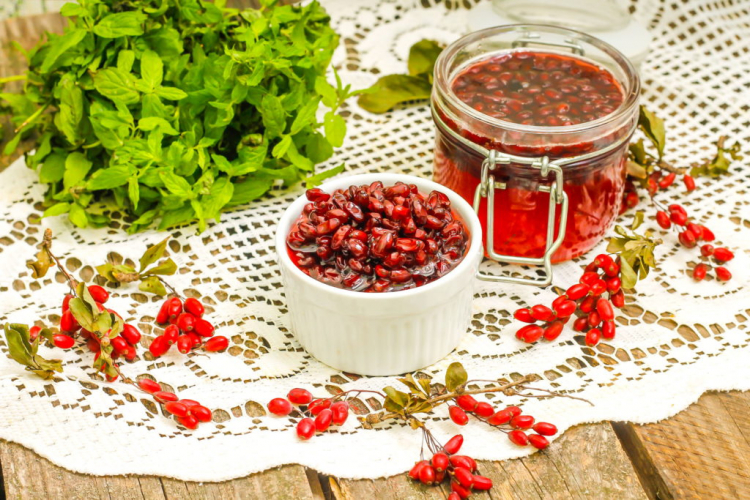 The sweet and sour fruits make a delicious jam
